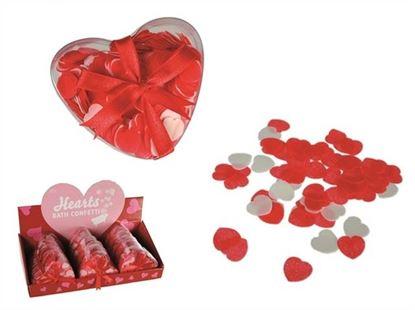 Obrázek Confetti do vany - Srdce