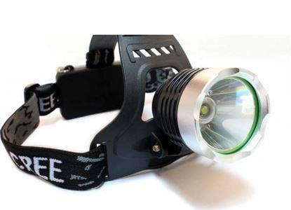 Obrázek Čelová svítilna s adaptérem do auta