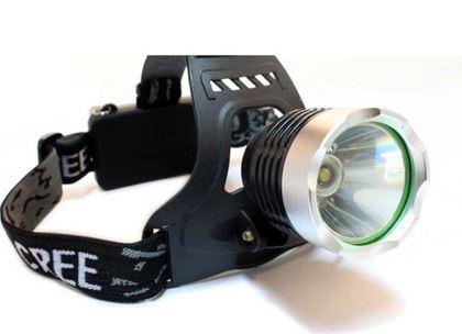Obrázek z Čelová svítilna s adaptérem do auta