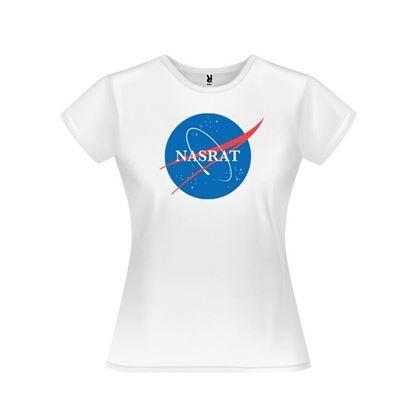 Obrázek Dámské tričko - NASRAT - bílé - S