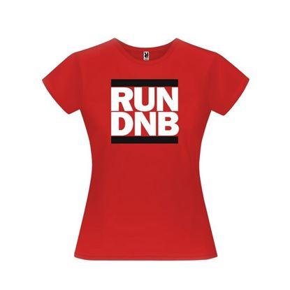 Obrázek Dámské tričko - RUN DNB - červené - S