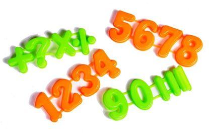 Obrázek Formičky do písku - číslice