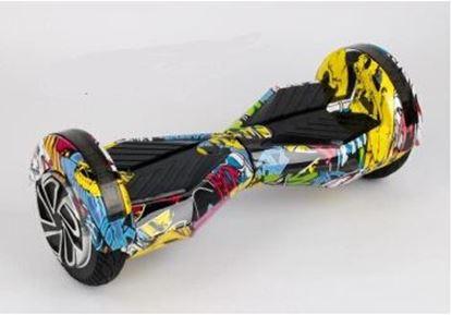 """Obrázek Hoverboard PREMIUM 8"""" (GRAFFITI) - značková baterie"""