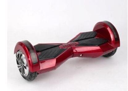 "Obrázek Hoverboard PREMIUM 8"" (red/black) - značková baterie"