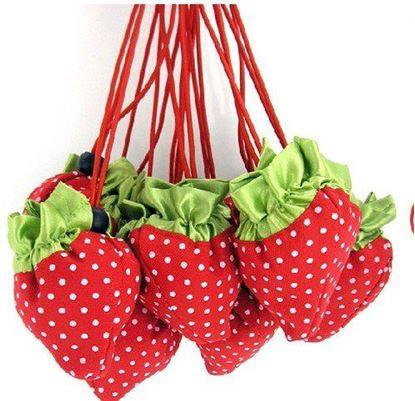 Obrázek Jahůdková nákupní taška - červená