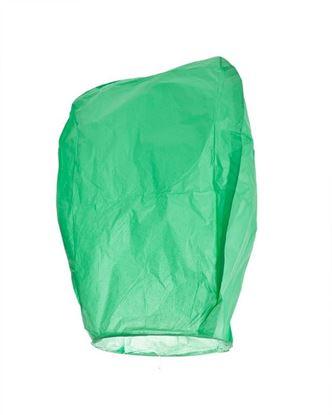Obrázek Lampion štěstí - zelený