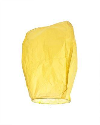 Obrázek Lampion štěstí - žlutý