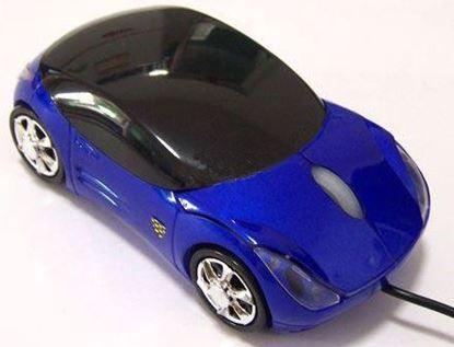 Obrázek Optická myš Porsche Carerra 911 - modrá