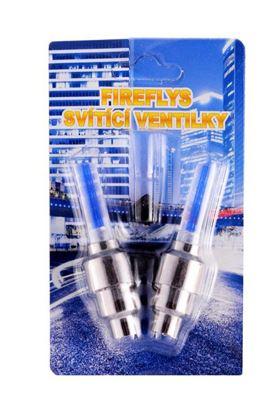 Obrázek z Svítící ventilky 2 ks - modré
