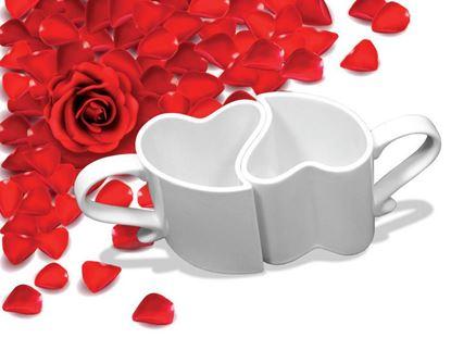 Obrázek Zamilované hrníčky - bílé