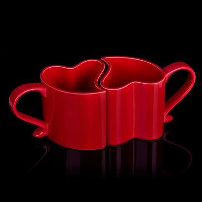 Obrázek Zamilované hrníčky - červené