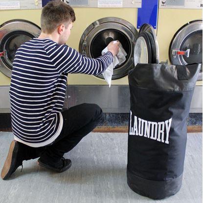 Obrázek Boxovací pytel na špinavé prádlo