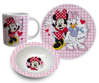 Obrázek 3dílná porcelánová souprava Minnie