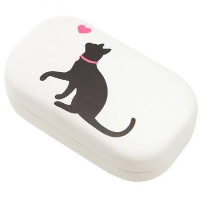 Obrázek Pouzdro na kontaktní čočky - motiv kočky