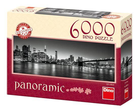 Obrázek z Puzzle 6000 - Noční Brooklyn