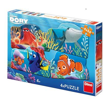 Obrázek Puzzle Dory a přátelé 4 x 54