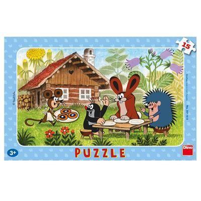 Obrázek Puzzle 15 - Krtek na návštěvě
