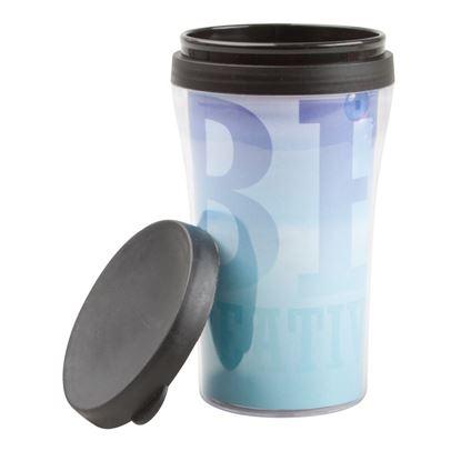 Obrázek Plastový termohrnek s možností vložení fotky