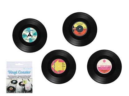 Obrázek Retro vinylové podtácky - gramofonové desky