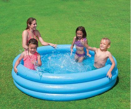 Obrázek z Dětský nafukovací bazén - 3 komorový