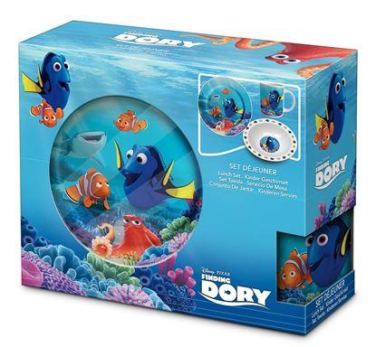 Obrázek 3dílná porcelánová souprava Nemo