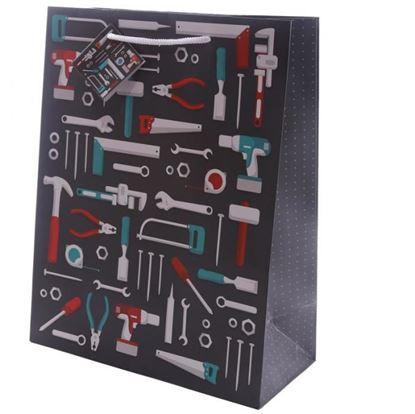 Obrázek Dárková taška s motivem nářadí