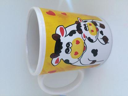 Obrázek Hrnek na kávu - kravičky