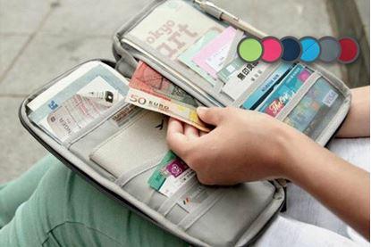 Obrázek Cestovní organizér - šedý