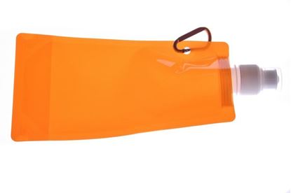 Obrázek Skládací láhev - oranžová
