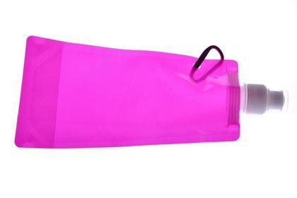 Obrázek z Skládací láhev - růžová
