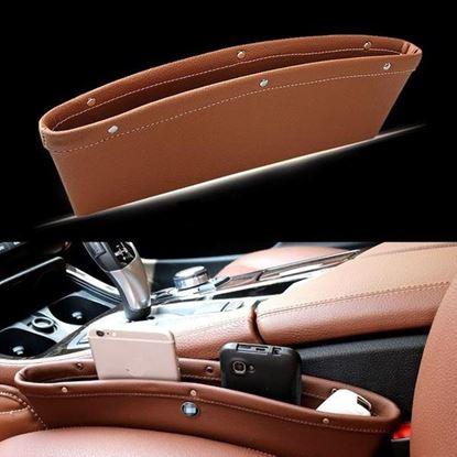 Obrázek Koženkové pouzdro do auta 2 ks