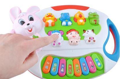 Obrázek Interaktivní hrací klávesy - zvířátka
