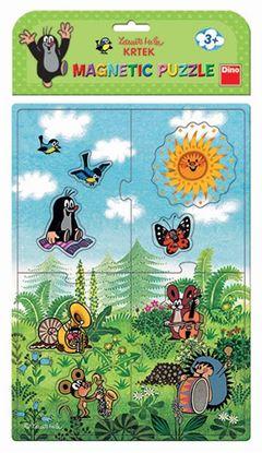 Obrázek Magnety Krtek - puzzle