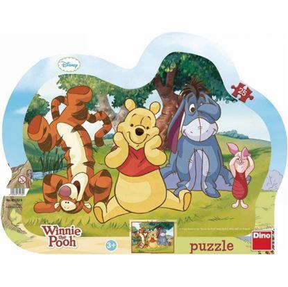 Obrázek Puzzle 25 - Medvídek Pú