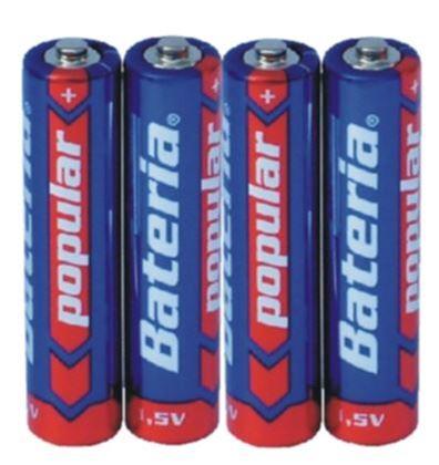 Obrázek z Mikrotužková baterie AAA 4ks - klasická