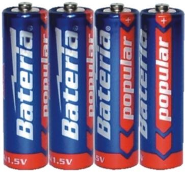 Obrázek z Tužková baterie AA 4ks - klasická