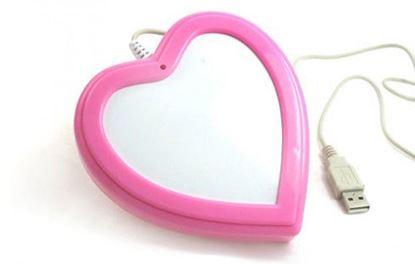 Obrázek USB ohřívač nápojů Srdce