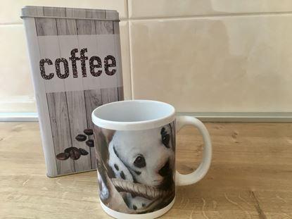 Obrázek Hrnek na kávu s motivem pejska