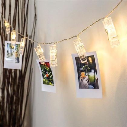 Obrázek z LED svítící kolíčky