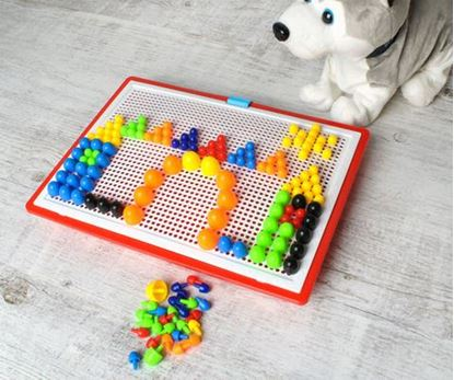Obrázek Dětská barevná mozaika