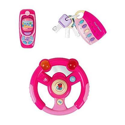 Obrázek Hrací volant s příslušenstvím