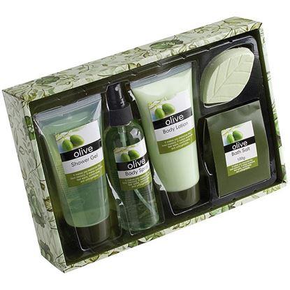 Obrázek Dárková kosmetická sada - oliva