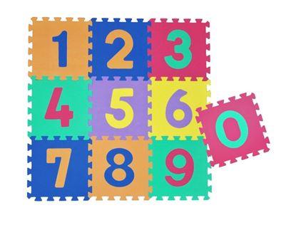 Obrázek Pěnové puzzle s čísly