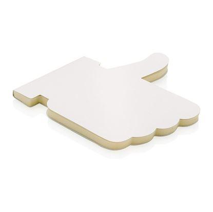 Obrázek Zápisník ve tvaru Like