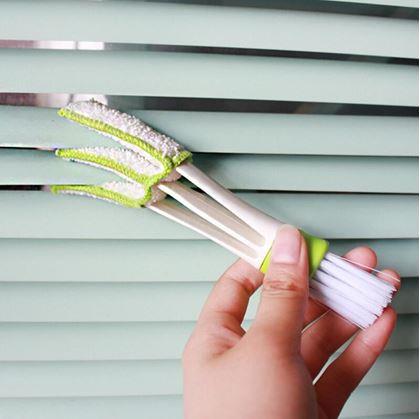 Obrázek z Čistič ventilací a žaluzií 2v1