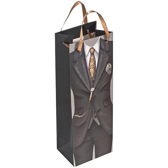 Obrázek z Dárková taška na víno - muž