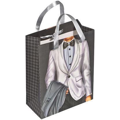 Obrázek Dárková taška s potiskem - muž
