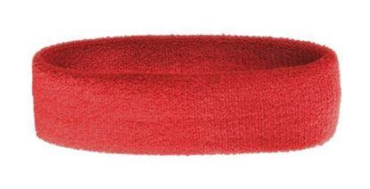 Obrázek Froté čelenka - červená
