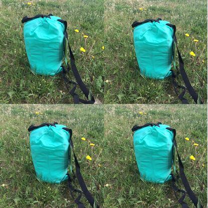 Obrázek Nafukovací vak Lazy bag jednovrstvý - tyrkysový