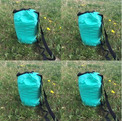 Obrázek z Nafukovací vak Lazy bag jednovrstvý - tyrkysový